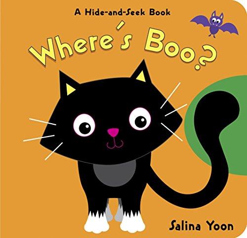 portada Where's Boo? (libro en Inglés)